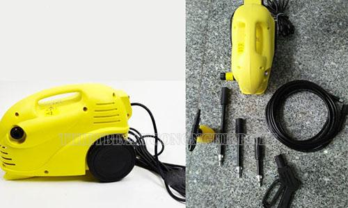 Máy phun rửa xe Vjet được thiết kế làm việc ở hiệu suất cao, áp lực nước lớn