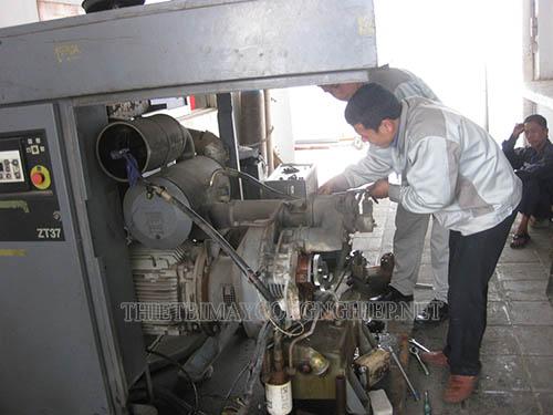 Sau một thời gian sử dụng máy nén khí có thể gặp phải một số hư hỏng