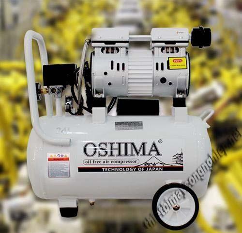 Máy nén khí giảm âm Oshima 24L được nhiều người dùng sử dụng