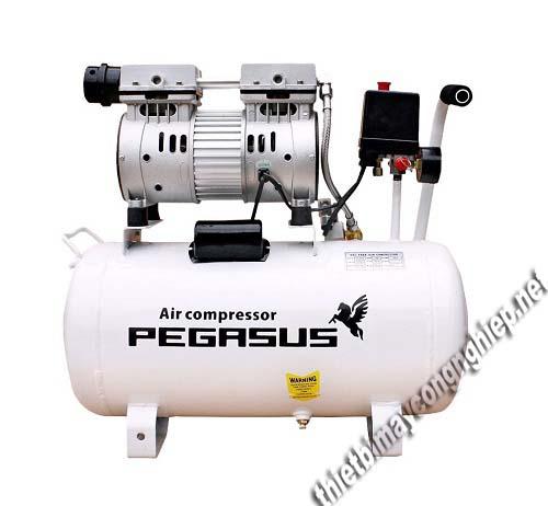 Máy nén không khí không dầu, giảm âm Pegasus TM - OF550 - 25L