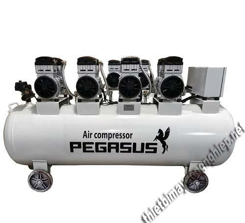 2 chiếc máy nén khí giảm âm chất lượng