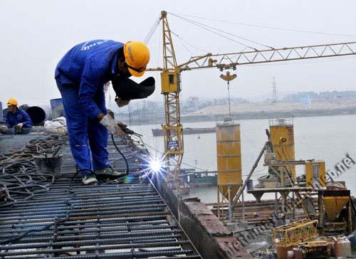 Ứng dụng của máy nén khí trong nghành xây dựng