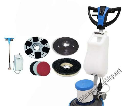 Mỗi phụ kiện của máy chà sàn có chức năng riêng biệt