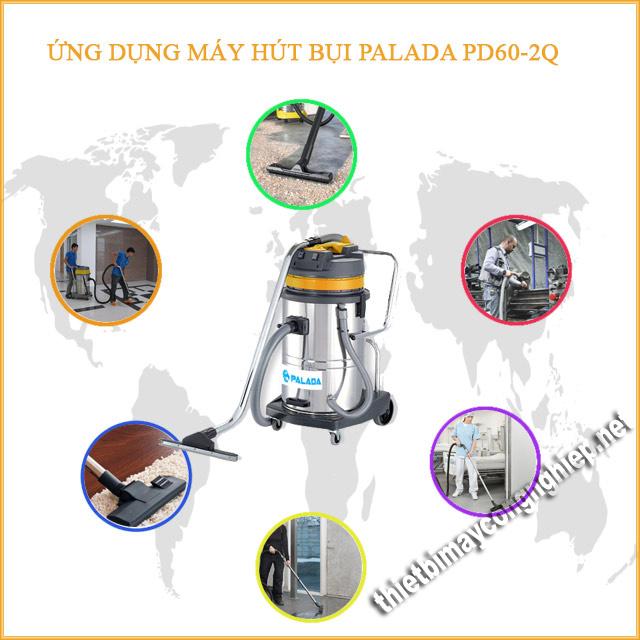 Ứng dụng của máy hút bụi công nghiệp