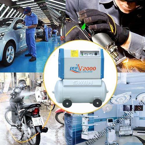 ưu điểm và nhược điểm của máy nén khí không dầu