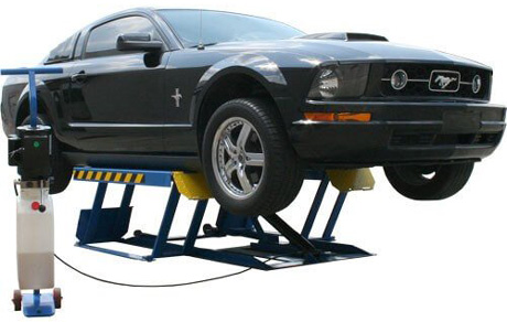 Atlas LR-06P 6,000lb Portable Low Rise Scissor Car Lift
