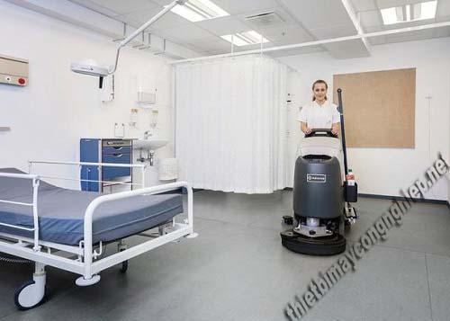 Máy chà sàn nào phù hợp cho bệnh viện