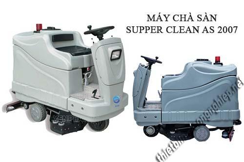Máy chà sàn ngồi lái với năng suất vệ sinh cao