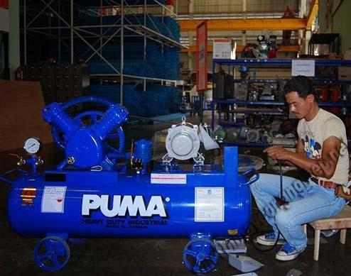 Thương hiệu Puma nổi tiếng với các dòng máy nén không khí