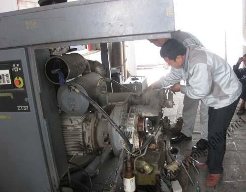 Cách sửa chữa các lỗi thường gặp ở máy nén khí trục vít