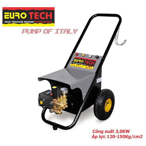 Máy rửa xe Eurotech đến từ Ý