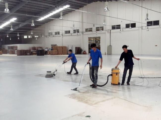 Những trang thiết bị cần thiết phục vụ vệ sinh nhà xưởng