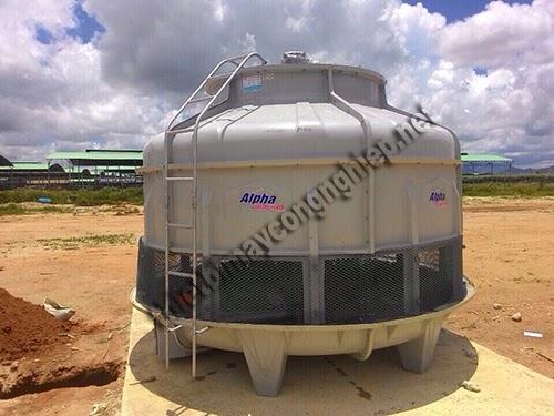 Tháp giải nhiệt Alpha – giải pháp hạ nhiệt nước hiệu quả