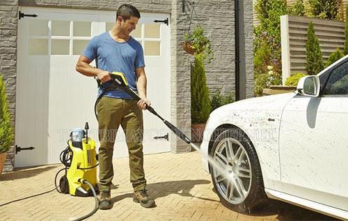 máy rửa xe bị yếu