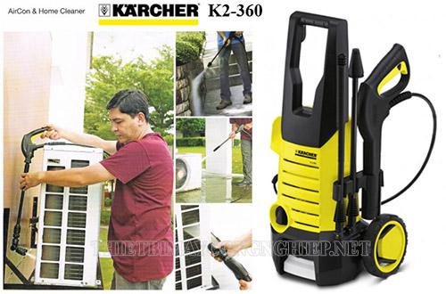Karcher - thương hiệu máy rửa xe dẫn đầu thế giới