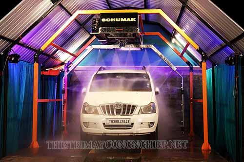 Hệ thống rửa xe thông minh giúp nâng cao hiệu suất, tiết kiệm cho p