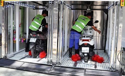 Giá máy rửa xe tự động là khá cao so với khả năng đầu tư của nhiều người