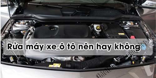 Rửa máy xe hơi là điều chiếc xe nào cũng cần làm để bảo vệ xe
