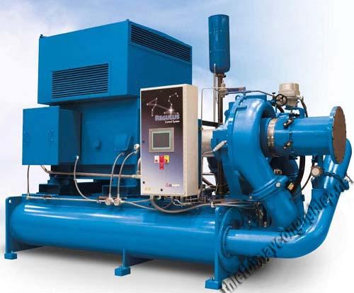 Máy nén khí ly tâm chủ yếu được sử dụng trong ngành công nghiệp nặng