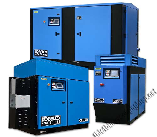 Kobelco là một trong những nhà sản xuất máy nén khí trục vít Nhật