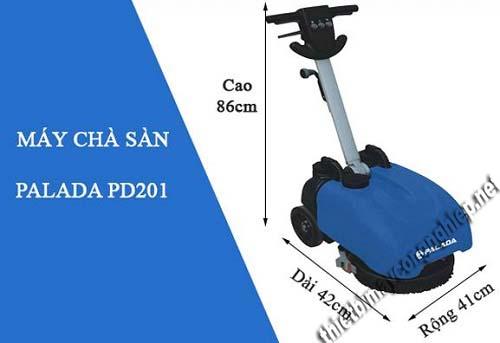 Máy chà sàn mini liên hợp Palada PD201