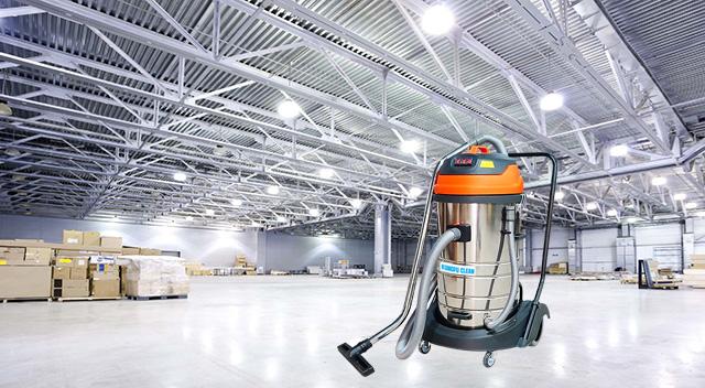 KF80A được sử dụng làm sạch trong các nhà máy, xí nghiệp lớn
