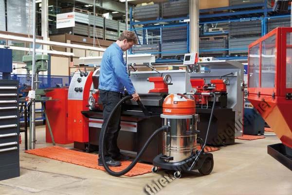 Chọn dung tích thùng chứa bụi phù hợp với dung lượng chất thải cần xử lý