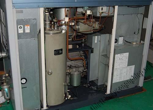Các chi tiết của máy nén khí trục vít