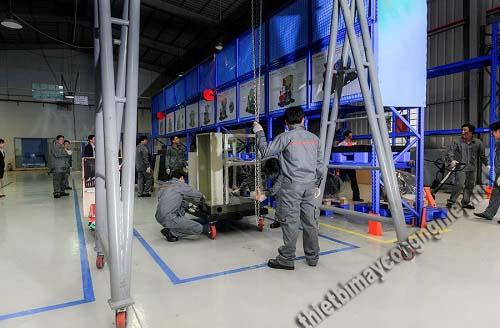 Máy nén khí cao áp được sử dụng rất nhiều trên thị trường