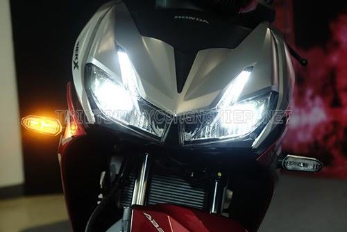 cách làm đèn xe máy sáng hơn