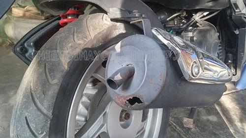 cách làm giảm tiếng ồn của bô xe máy