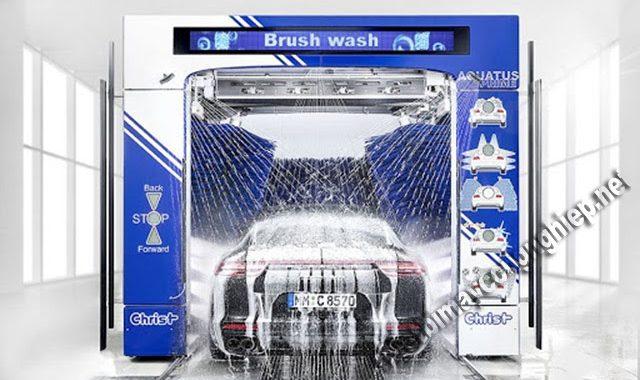 máy rửa xe ô tô tự động giá bao nhiêu