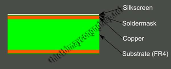 bảng mạch pcb 1 lớp