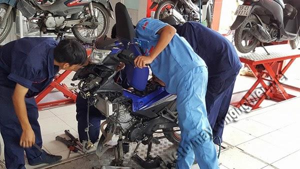 cách khắc phục lỗi cổ xe máy