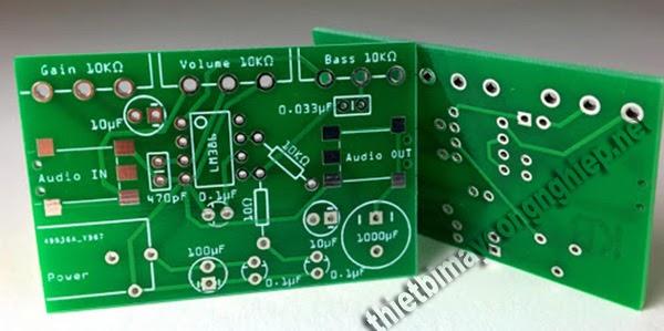 lớp solder mask bảng mạch pcb
