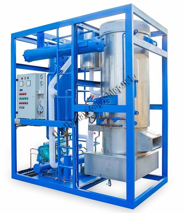 sơ đồ nguyên lý hệ thống lạnh công nghiệp