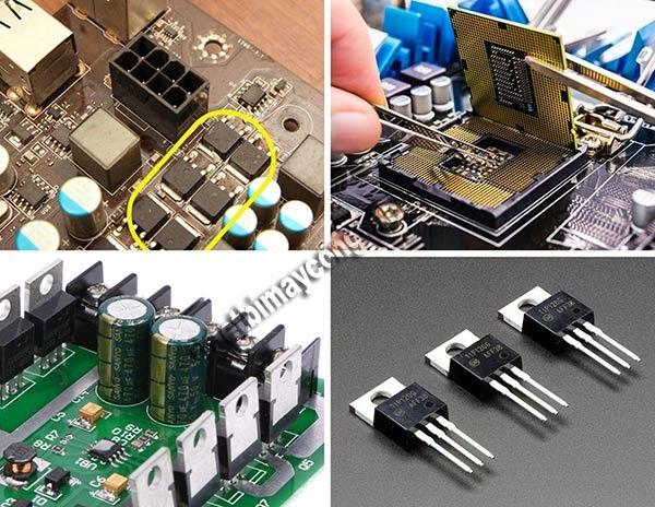 ứng dụng transistor mosfet