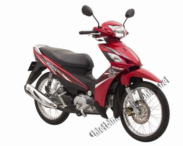 xe máy tầm giá 25 triệu suzuki viva