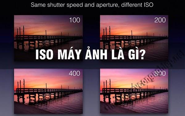 iso máy ảnh là gì