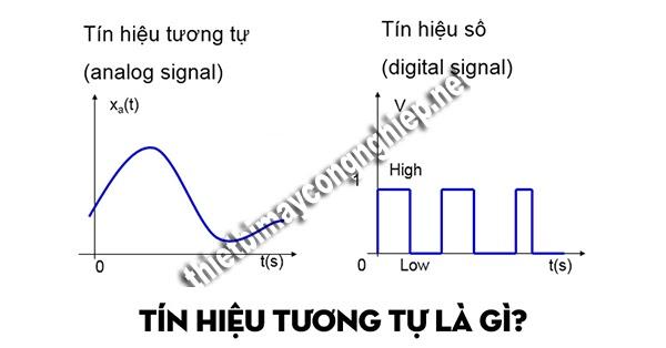 tín hiệu tương tự là gì