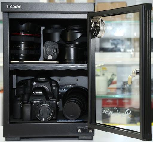 lựa chọn tủ chống ẩm cho máy ảnh đúng chuẩn