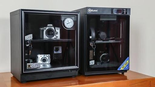 lựa chọn tủ chống ẩm cho máy ảnh
