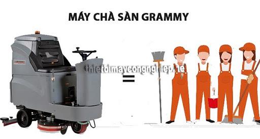 máy lau sàn công nghiệp grammy