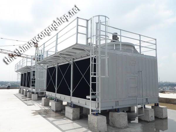 cấu tạo và ưu điểm tháp giải nhiệt kín