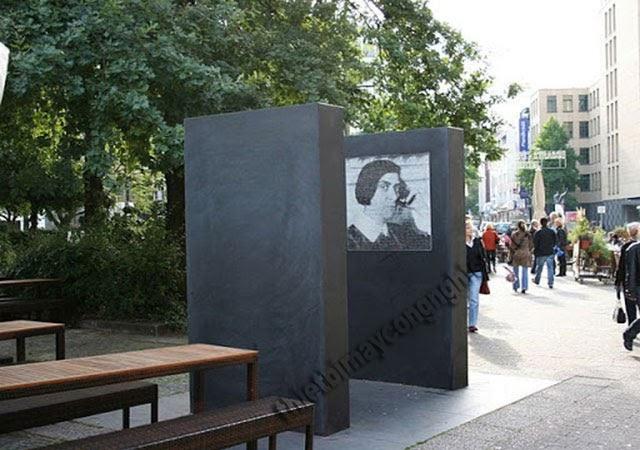 đài tưởng niệm else lasker-schüler