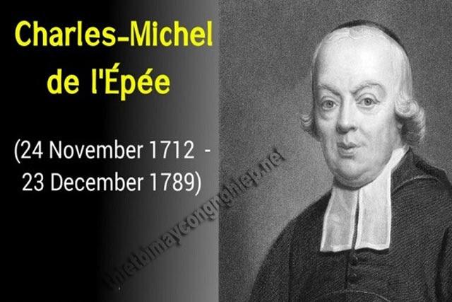 tiểu sử charles michèle de l'epée
