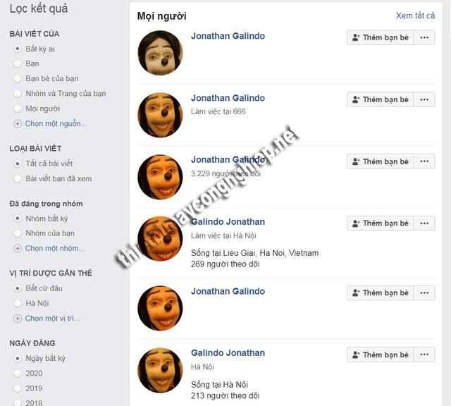 Jonathan Galindo facebook