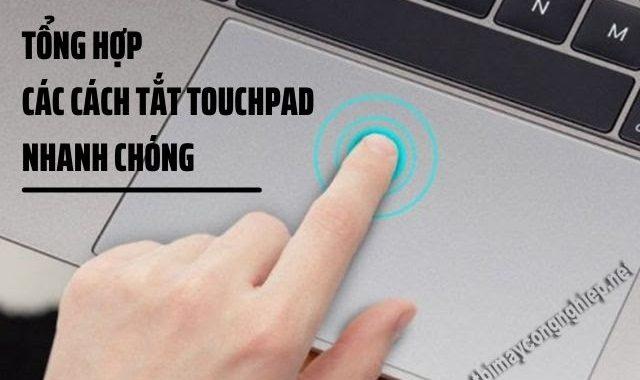 cách tắt touchpad
