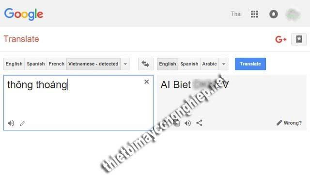 chửi google dịch nói bậy