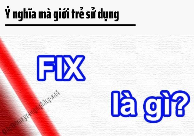 fix cond là gì